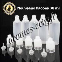 Flacons 30 ml sécurisés 5 pcs transparents