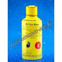 Base e-liquide 06 mg PG Ecobaza Inawera