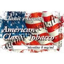 E-Liquide American 0 mg TDM classique