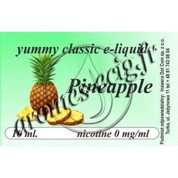 E-Liquide Ananas 0 mg TDM classique