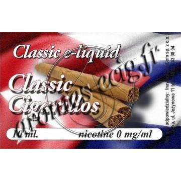 E-Liquide Cigarillos 0 mg TDM classique
