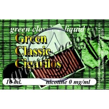 Green e-liquide Cigarillos 0 mg TDM classique