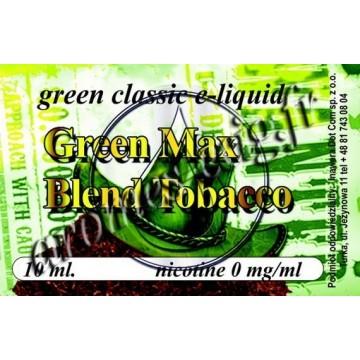 Green e-liquide Max Blend 0 mg TDM classique