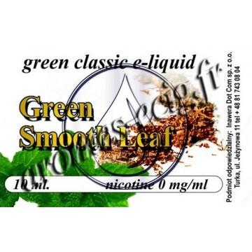 Green e-Liquide Tabac Fumé 0 mg TDM classique