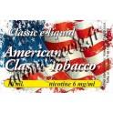 E-Liquide American 6 mg TDM classique