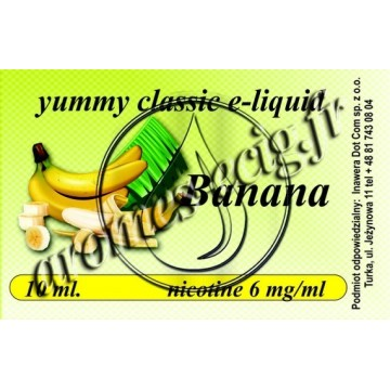 E-Liquide Banane 6 mg TDM classique