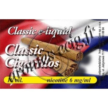 E-Liquide Cigarillos 6 mg TDM classique