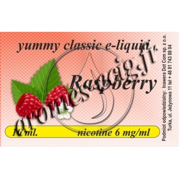 E-Liquide Framboise 6 mg TDM classique