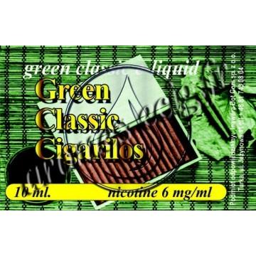 Green e-liquide Cigarillos 6 mg TDM classique
