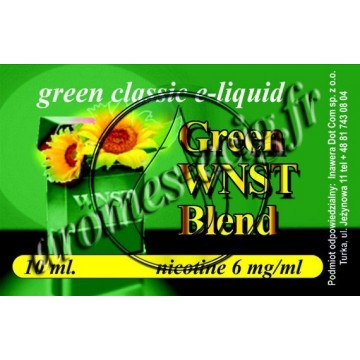 Green e-liquide WNST 6 mg TDM classique