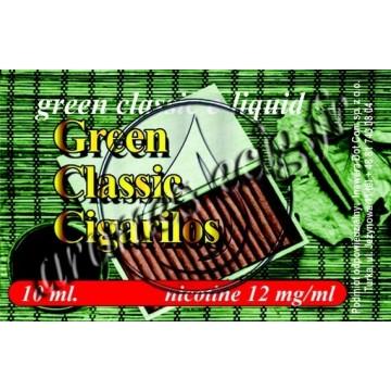 Green e-liquide Cigarillos 12 mg TDM classique