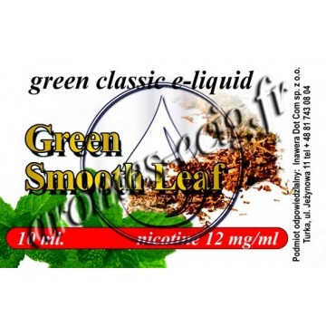 Green e-Liquide Tabac Fumé 12 mg TDM classique