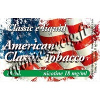 E-Liquide American 18 mg TDM classique