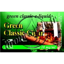 Green e-liquide Cigare 18 mg TDM classique