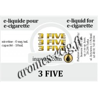 E-Liquide 3 Five 0 mg Inawera
