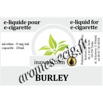 E-Liquide Burley 0 mg Inawera