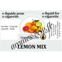 E-Liquide Citron Mix 0 mg Inawera