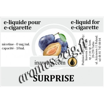 E-liquide Surprise 0mg Inawera