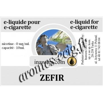 E-Liquide Zefir 0 mg Inawera