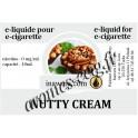 E-Liquide Crème De Noisette 0 mg Inawera