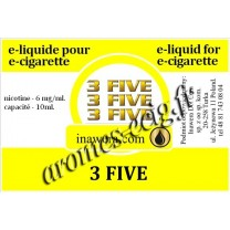 E-Liquide 3 Five 6 mg Inawera
