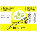 E-Liquide Burley 6 mg Inawera
