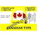 E-Liquide Canadian Type 6 mg Inawera