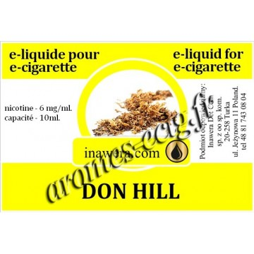 E-Liquide Don Hill 6 mg Inawera