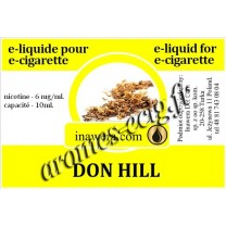E-Liquide Don Hill 6 mg Inawera