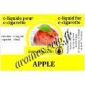 E-Liquide Pomme 6 mg Inawera