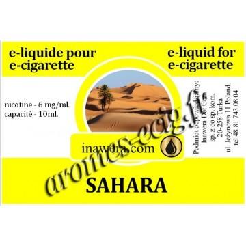 E-Liquide Sahara 6 mg Inawera