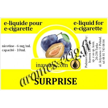 E-Liquide Surprise 6 mg Inawera