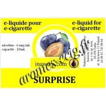 E-Liquide Surprise 6 mg Inawera