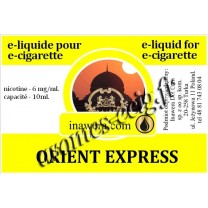E-Liquide Orient Express 6 mg Inawera