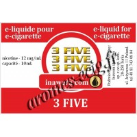 E-Liquide 3 Five 12 mg Inawera