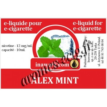 E-Liquide Menthe Glaciale 12 mg Inawera