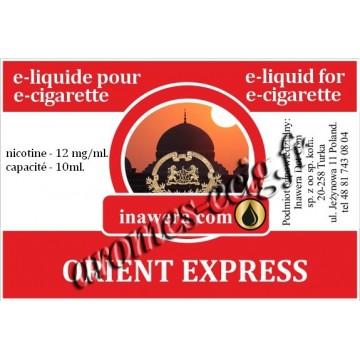 E-Liquide Orient Express 12 mg Inawera