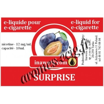 E-Liquide Surprise 12 mg Inawera