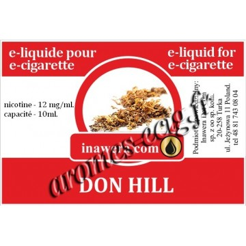 E-Liquide Don Hill 12 mg Inawera
