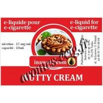 E-Liquide Crème De Noisette 12 mg Inawera