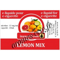E-Liquide Citron Mix 12 mg Inawera