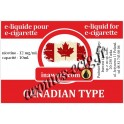 E-Liquide Canadian Type 12 mg Inawera