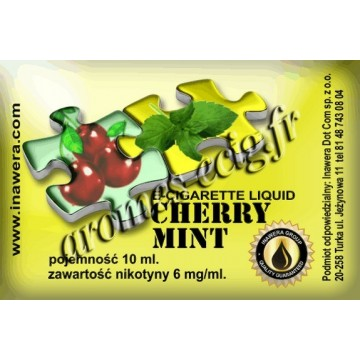E-Liquide Cerise Menthe 6 mg Duets