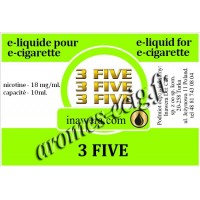 E-Liquide 3 Five 18 mg Inawera