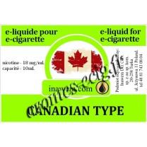 E-Liquide Canadian Type 18 mg Inawera