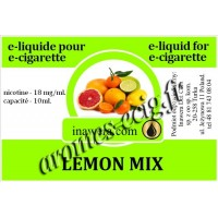 E-Liquide Citron Mix 18 mg Inawera
