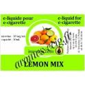 E-Liquide Citron Mix 18 mg Inawera