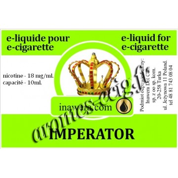 E-Liquide Imperator 18 mg Inawera