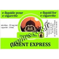 E-Liquide Orient Express 18 mg Inawera