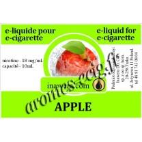 E-Liquide Pomme 18 mg Inawera